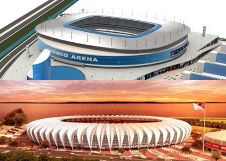 Estádios Gaúchos